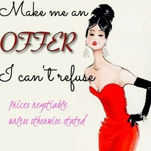 Reasonable Offers Considered❤